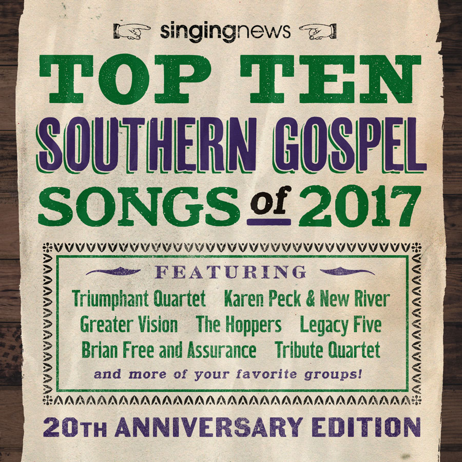 Singing News Top 10 Southern Gospel Songs 2017 – New Haven